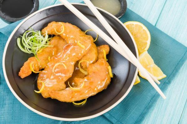 Chinese lemon chicken chinese food recipes chinese lemon chicken recipes forumfinder Images
