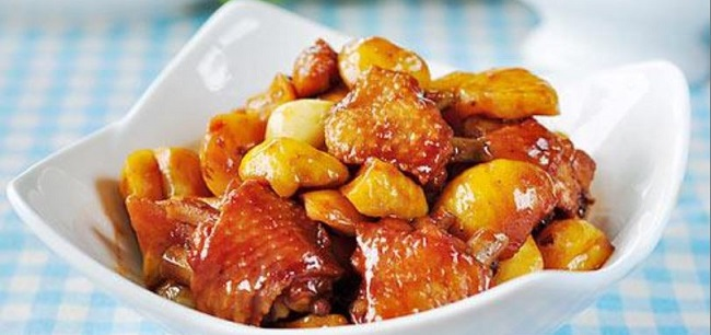 Stewed chicken wings with chestnuts chinese food recipes stewed chicken wings with chestnuts recipes forumfinder Choice Image