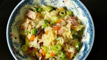 Chinese Yangzhou fried rice