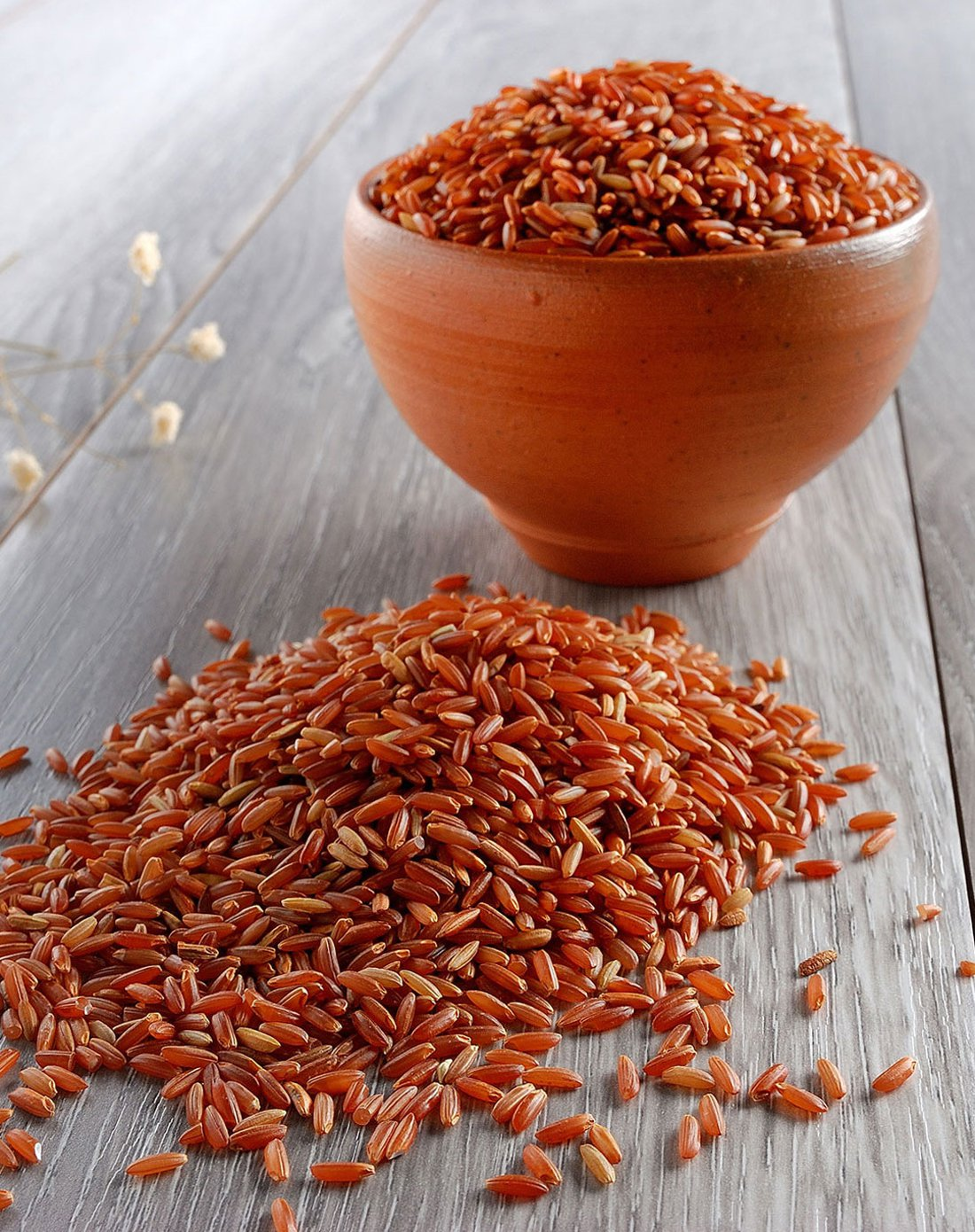 What are the benefits of red rice