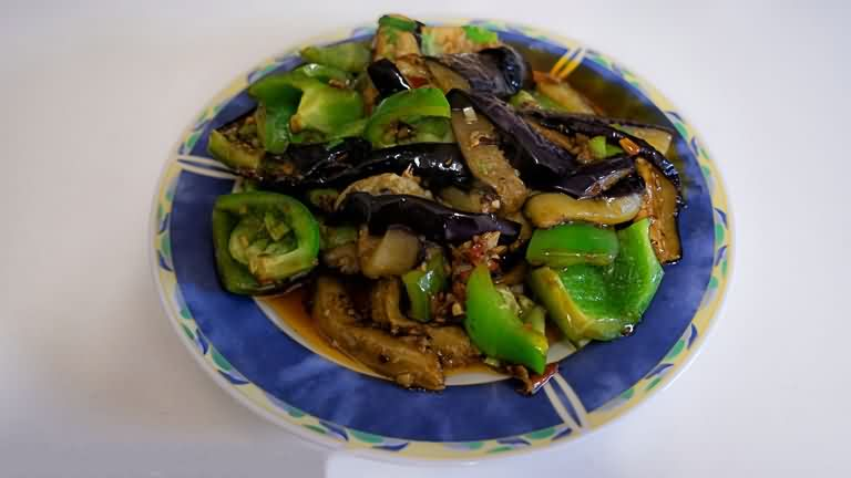Fish Flavor Eggplant