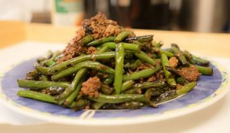 Szechuan Dry-Fried Green Beans(干煸豆角)