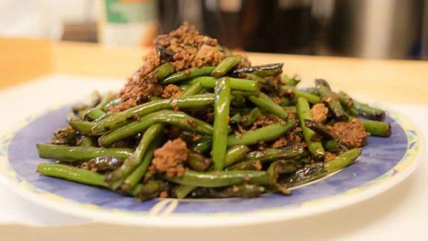 Szechuan Dry-Fried Green Beans